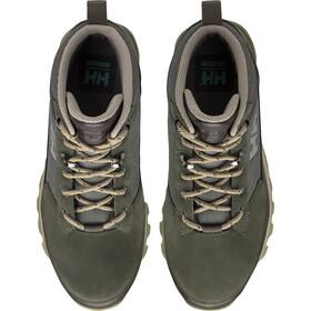 Helly Hansen Chilcotin Shoes Damen forest night/warm espresso/ivy green